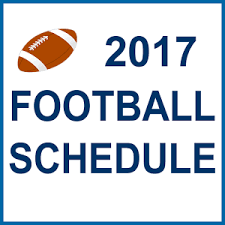 GHS Patriots JV and Varsity Football Schedules